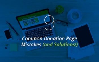 9 Common Donation Page Mistakes